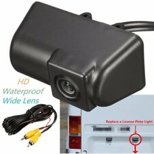 CCD Waterproof Rear View Reverse License Plate Parking Camera For Ford Transit