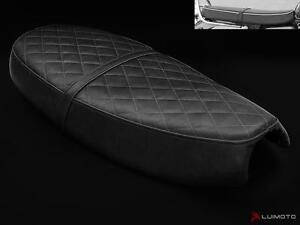 Triumph Bonneville Seat Cover 2000-2015 Black Leather Look Luimoto