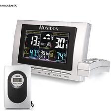 Digital Funk LCD Wetterstation Wettervorhersage Hydrometer Barometer Thermometer