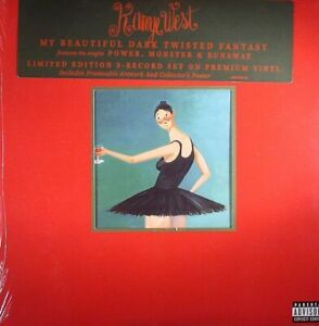 WEST, Kanye - My Beautiful Dark Twisted Fantasy - Vinyl (3xLP)