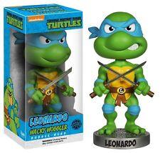 Funko Teenage Mutant Ninja LEONARDO Bobble Head Wacky Wobbler 15cm