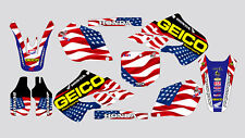 GEICO 001.,HONDA CR 125-250 1998-1999 DECAL STICKER GRAPHIC KIT