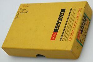 """Kodak SW Medalist F--2 3.5 x 5"""" 82 sheet box EXP 12/68 391496"""