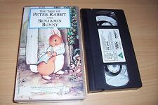 VHS THE TAIL OF PETER RABBIT BAND BENJAMIN BUNNY