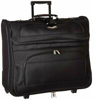Travel Suitcase Wheels Rolling Folding Garment Bag Luggage Carry Clothing Suits.