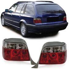 Rückleuchten rot klar Kristall für BMW 3er E36 Touring Kombi 94-99