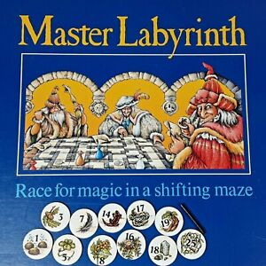 Ravensburger Master Labyrinth Game Piece Numbered Token & Wand Replacement 1991