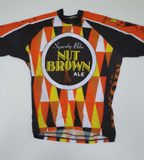 World Men's Nut Brown Ale Cycling Jersey Extra Large