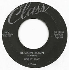 BOBBY DAY - Rock-In Robin / Over And Over (45)