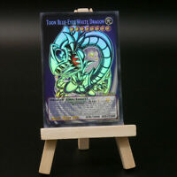 Yugioh ORICA: Toon Blue-Eyes White Dragon (Holo) | Full-Art Custom Blauäugiger