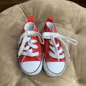 Converse New Born Crib Red Sz 2 88875