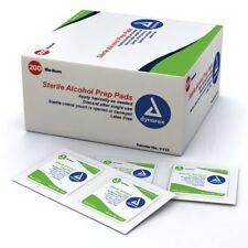 2 Pack Dynarex Alcohol Prep Pads Medium #1113 200 Latex Free Sterile Pads Each