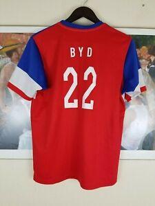 Team USA BYD #22 Jersey Nike Dri Fit Medium 2015 Soccer World Cup Size L
