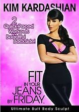 Kim Kardashian 2 Quick Paced Workouts To A Beautiful Backside  DVD J3