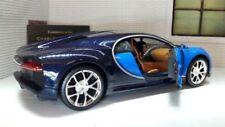 Modellini statici di auto, furgoni e camion pressofuso per Bugatti Scala 1:24