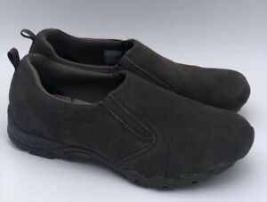 Skechers Relaxed Fit Shoes Memory Foam Women's Sneakers Size 6.5 Brown Leather