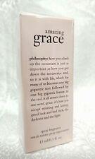 Philosophy AMAZING GRACE Eau De Toilette EDT Perfume Spray Fragrance 0.5 oz NIB!