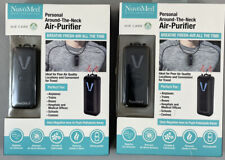 2ea NuvoMed Personal Necklace Fresh Air Purifier Built-In Rechargeable Battery
