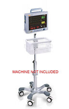Rolling Roll stand for Grady 9100/9200 veterinary  monitor (big wheel)