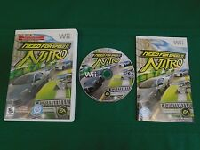 Nintendo Wii Car Racing Game NEED FOR SPEED NITRO Complete w Instructions Wii-U