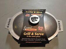 K-State Wildcats Wilton Armetale Gourmet Grillware Chili Pot