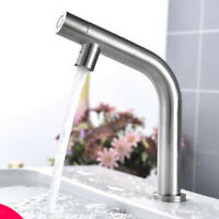 Bathroom Basin Sink Faucet Kitchen Single Cold Water Tap -8.27inch