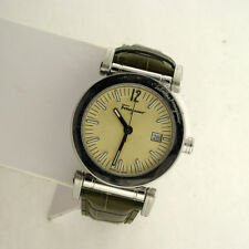 Salvatore Ferragamo F50LBQ9903S220 Men's Stainless Steel Leather Swiss Watch