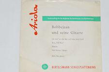 """BOBBEJAAN & SEINE GITARRE -Ich steh' an der Bar und habe kein Geld- 7"""" EP 45"""