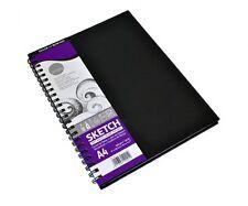 Daler Rowney Simply Artist Spiral Sketchbook A4 100gm Acid Free 54 Sheets
