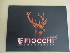 Fiocchi 2017 Product Catalog 83 Page Full Color High Quality Ammo Ammunition