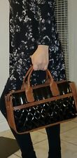 Claudia Firenze Brown quilted leather Shoulder Bag