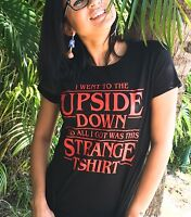 Stranger Things T-Shirt Upside Down Women`s Tee LeRage Shirts Netflix TV Series