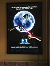 E.T. 20Th Anniversary Original Double Sided Movie Poster