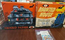 Haunted House Game Ideal Toy  BOX Instructions 1962  RARE! Monsters Halloween