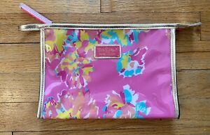 Lilly Pulitzer for Estee Lauder Makeup bag - Pink Floral ~ New