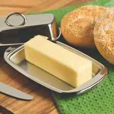 Stainless Steel Butter Dish With Lid