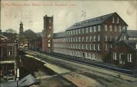 Naugatuck CT Phoenix Shop Rubber Factory c1910 Postcard