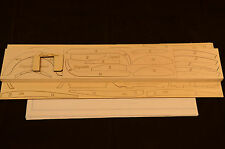 1/6 Scale SOPWITH CAMEL Laser Cut Short Kit & Plans 56 in. wing span