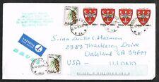 Poland to USA w/ Scott #'s 3014 & 3127(x4)