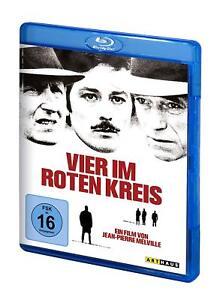 Vier im roten Kreis [Blu-ray/NEU/OVP] Alain Delon, Andre Bourvil, Yves Montand,