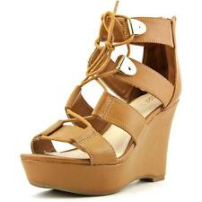 Platform, Wedge Lace Up Synthetic Shoes for Women