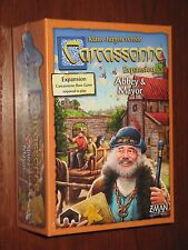 Carcassonne Abbey & Mayor expansion 5 NEW SW Z-Man Games boardgame