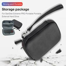 Storage Bag Case For SanDisk Extreme PRO Portable External Hard Drive Black