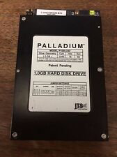 Palladium 1 GB hard Disk Drive. Model P1000-2AF. Tests good. Wiped.