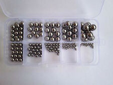160Pcs G10-grade Stainless steel of wire Ball Bearing Screw Sets Assortment