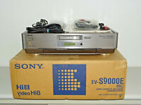 Sony EV-S9000 High-End Hi8-Videorecorder in OVP w.NEU, FB&BDA, 2 Jahre Garantie