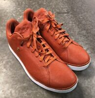 Under Armour Casual Street Shoes Sneakers Orange Mens Size 13 Lace Up