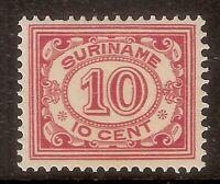 Suriname Nummer  86    Ongebruikt