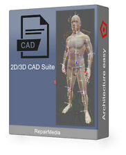 3D CAD Engineering Production Design Studio Automation Architecture Software DVD