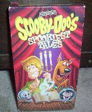 Scooby-Doo's Spookiest Tales Vampires Bats & Ghosts VHS